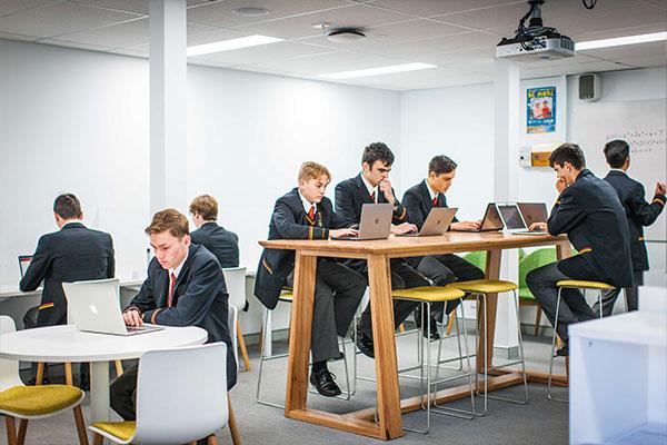 Marist College Eastwood Senior Study Area
