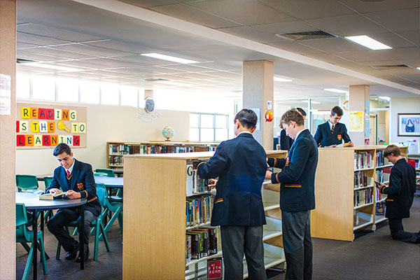Marist College Eastwood Library library